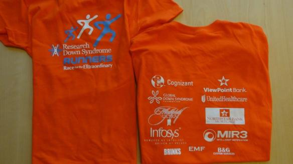 RDS Runners Texas Marathon Shirts